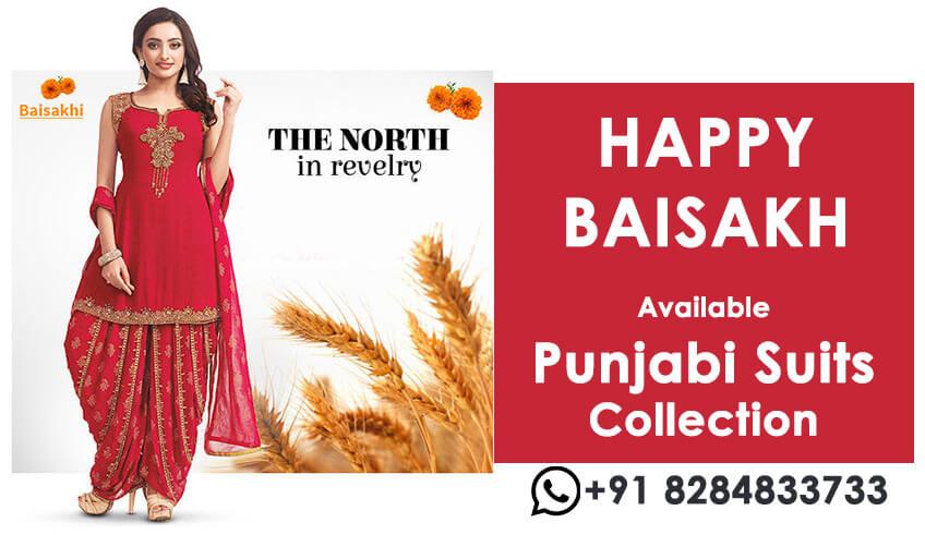 Punjabi Style Happy Baishakhi