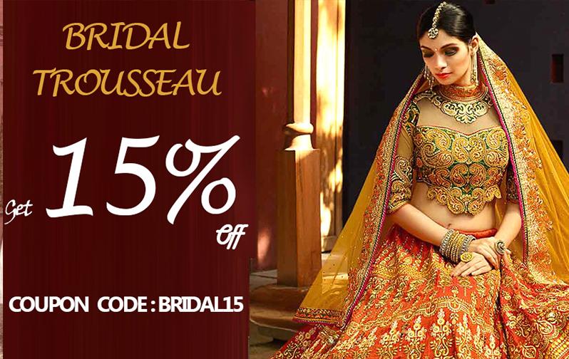 bridal-lehenga-banner-15%-off-zikimo-fashion
