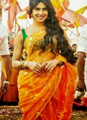 Priyanka Chopra Gunday Movie saree