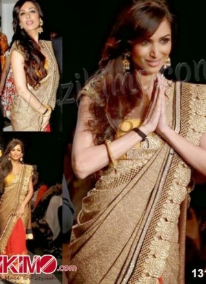 Malaika Arora In Saree