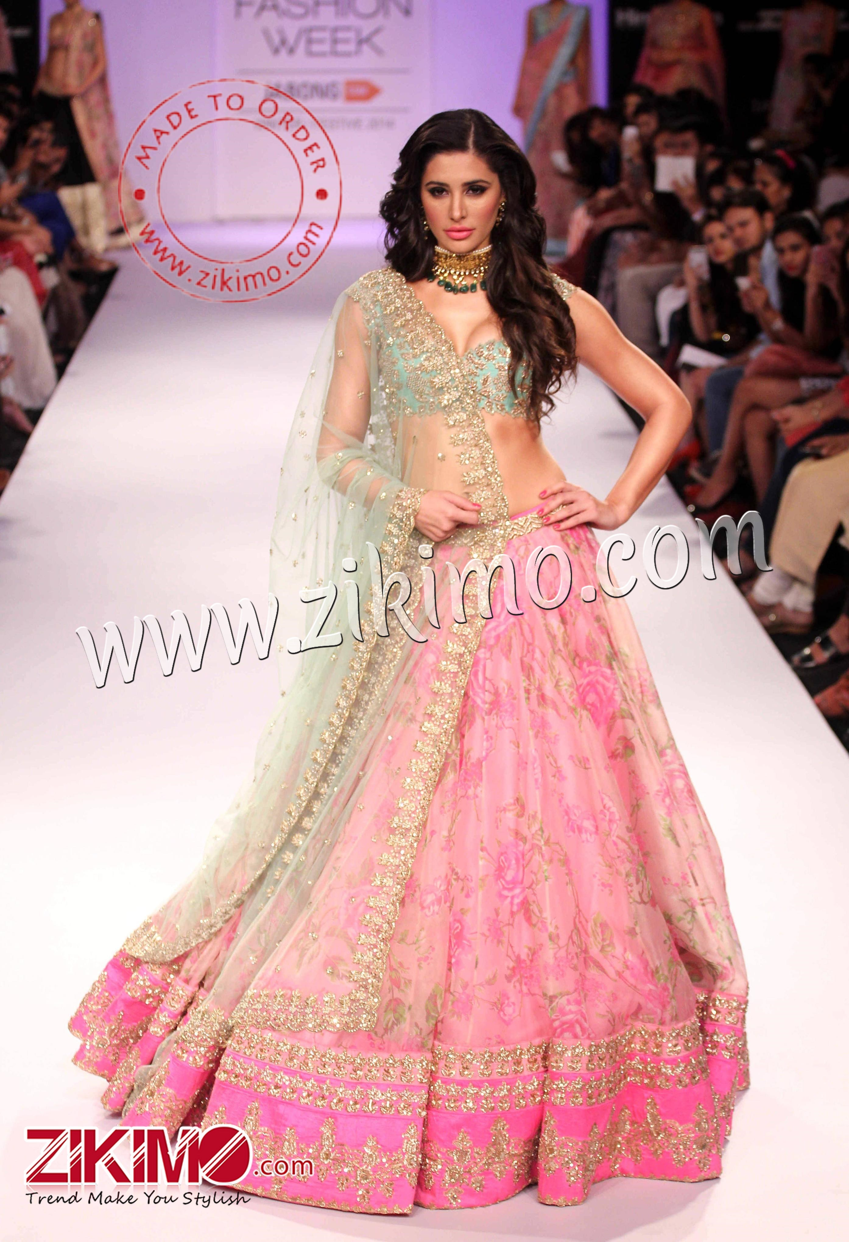 Most Beautiful Lehengas Lakme Fashion Week