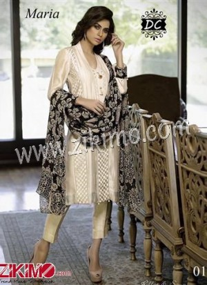 Designer Beige and Black Banglore Silk with jumka and latkan  Un-stitched Party Wear Palazzo/Pants/Chudidar Suit With Chiffon Dupatta
