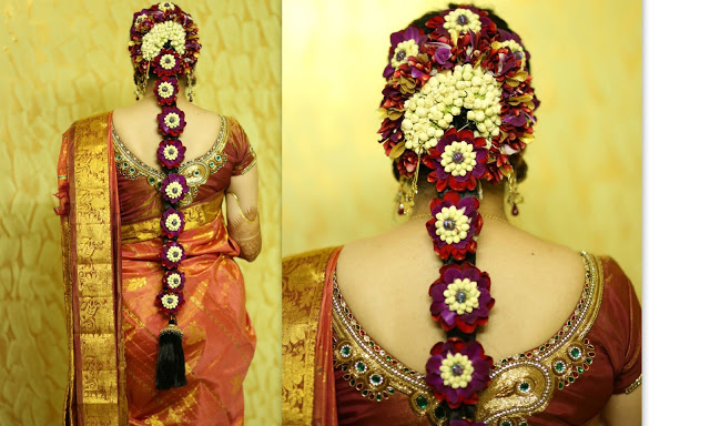 16 Long Hair Hairstyles For South Indian Wedding