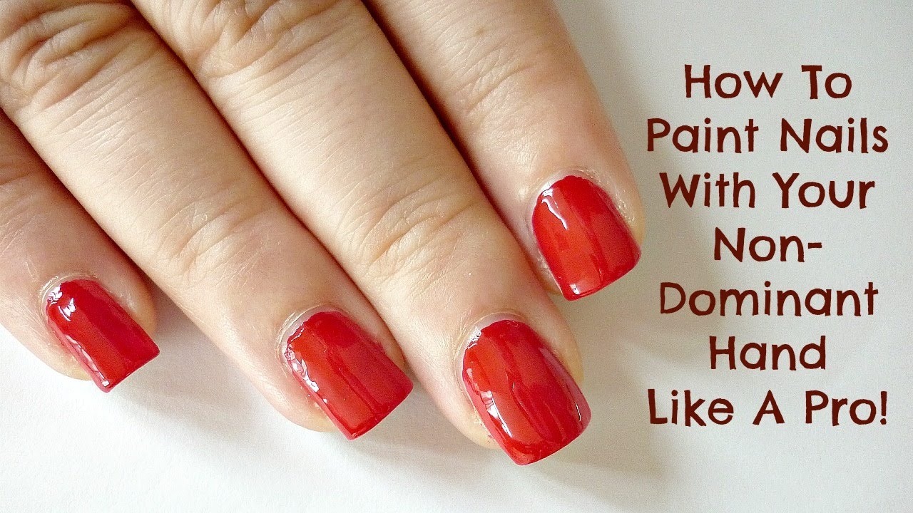 How To Nail Polish   Hession Hairdressing